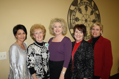 Kim Reeves (from left), Jane Morse, Amy Reed, Sandra Hayes and Shonna Battles. (Click picture for more photos)