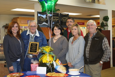 Stephanie Menefee (from left), George Brown, Sheri Stephens, Pierre Licon, Mandy Lewis and Jerry Baker.