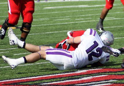 UCA football player Seth Allison.