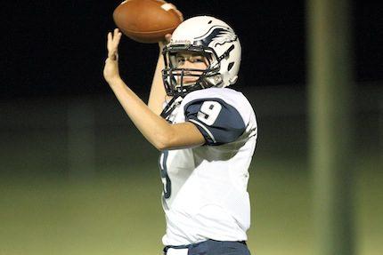Conway Christian senior quarterback Tanner Stevenson.