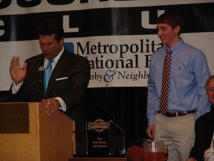 Tanner Stevenson (right).