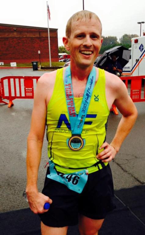 Erik Leamon of Conway was the winner in the half marathon.