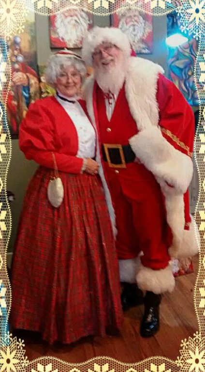 Santa and Mrs. Claus will be making a special home visit to the winner of a raffle.