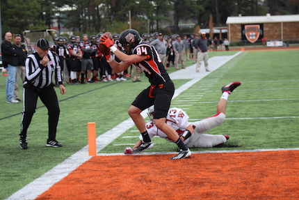 Spencer Smith is one of Hendrix College's top returning receivers.