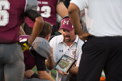 Morrilton High School Head Coach Cody McNabb hopes to lead the Devil Dogs to a 5A West title. (Todd Owens photo)