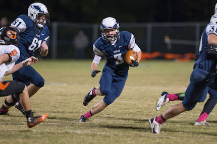 The Conway Christian Eagles return their leading receiver from 2015 in senior Seth Smith. (Todd Owens photo)