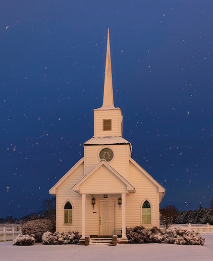 A quaint country church.