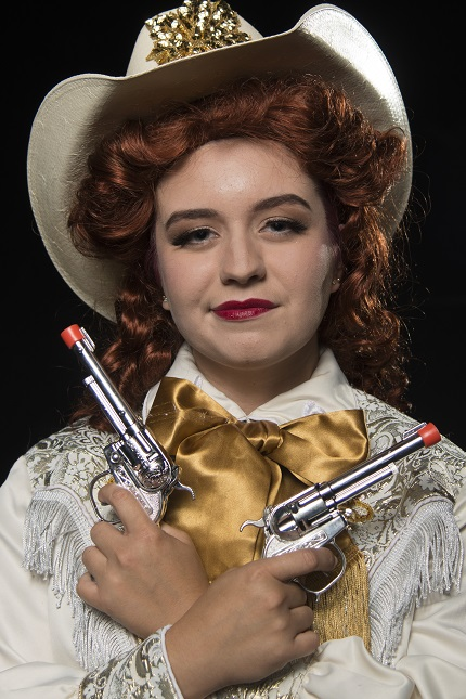 Freshman Allie Scott will star in the role of Annie in Harding University's production of