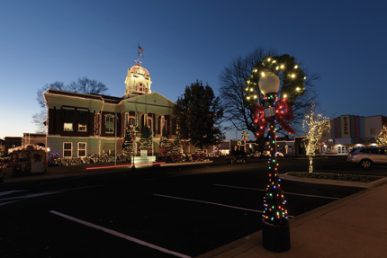 Downtown Searcy will be decked out in Christmas lights as part of the 2017 Searcy Holiday of Lights. (Mike Kemp photo)