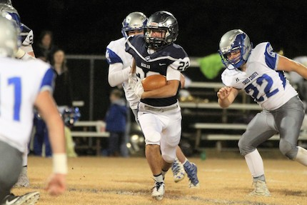 Conway Christian plays host to Mountainburg in the second round of the 2A playoffs. (Photo courtesy of Gallery 71/Dr. Ladd Ellis)