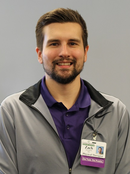 Zachary Brown has joined Conway Regional Therapy Services.