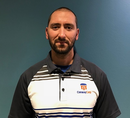 Mark Ferguson passed his Professional Engineer Exam and was promoted to Water Systems Engineer II at Conway Corporation.