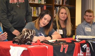 Jacksonville's Jordan Moody has committed to play softball at Central Baptist College.